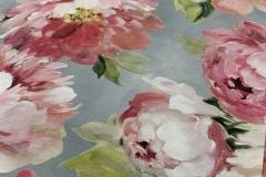 stoffa peonie fiori primavera